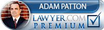 Adam Patton  Lawyer Badge