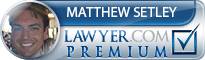 Matthew M Setley  Lawyer Badge