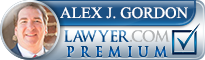 Alex Gordon  Lawyer Badge