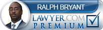 Ralph T Bryant  Lawyer Badge