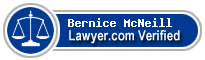 Bernice Marie Jenkins McNeill  Lawyer Badge