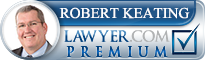 Robert Keating  Lawyer Badge
