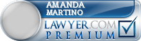 Amanda Martino  Lawyer Badge