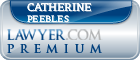Catherine Peebles  Lawyer Badge