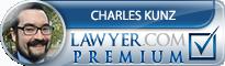Charles M Kunz  Lawyer Badge