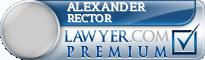 Alexander Jordan Rector  Lawyer Badge