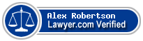 Alex T Robertson  Lawyer Badge