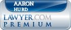 Aaron Jason Hurd  Lawyer Badge