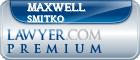 Maxwell Peter Smitko  Lawyer Badge