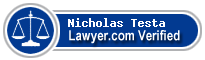 Nicholas J Testa  Lawyer Badge