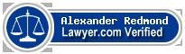 Alexander A Redmond  Lawyer Badge