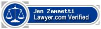 Jen Zammetti  Lawyer Badge