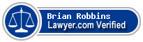Brian Thomas Robbins  Lawyer Badge