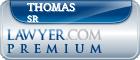 Thomas Morris Sr  Lawyer Badge