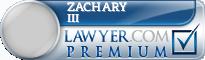 Zachary Taylor III  Lawyer Badge