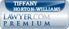 Tiffany Horton-Williams  Lawyer Badge