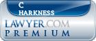 C Joy Harkness  Lawyer Badge