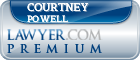 Courtney Olivia Powell  Lawyer Badge