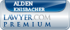 Alden Knisbacher  Lawyer Badge