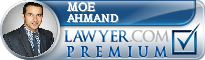 Moe Ahmand  Lawyer Badge