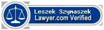 Leszek P. Szymaszek  Lawyer Badge