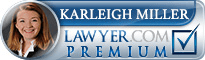 Karleigh K. Miller  Lawyer Badge