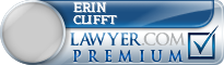 Erin Clifft  Lawyer Badge