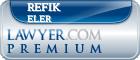 Refik W Eler  Lawyer Badge