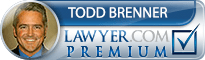 Todd A Brenner  Lawyer Badge