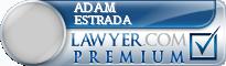 Adam Chriistopher Estrada  Lawyer Badge