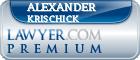 Alexander M. Krischick  Lawyer Badge