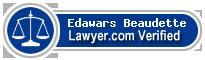 Edawars G. Beaudette  Lawyer Badge