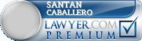 Santan N Caballero  Lawyer Badge