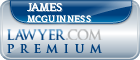 James G. Mcguinness  Lawyer Badge