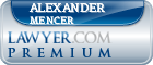 Alexander John Mencer  Lawyer Badge