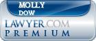 Molly Hoon-Hanks Dow  Lawyer Badge