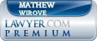 Mathew Wirove  Lawyer Badge
