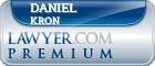 Daniel Kron  Lawyer Badge
