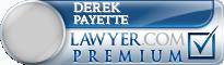 Derek Bernard Payette  Lawyer Badge