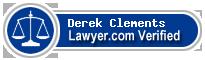 Derek E. Clements  Lawyer Badge