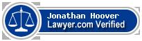 Jonathan Scott Hoover  Lawyer Badge
