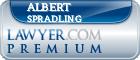 Albert M. Spradling  Lawyer Badge