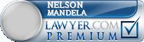 Nelson Mandela  Lawyer Badge