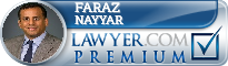 Faraz Nayyar  Lawyer Badge
