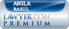 Anila S Rasul  Lawyer Badge