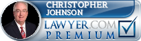 Christopher Clarke Johnson  Lawyer Badge