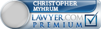 Christopher Bentley Myhrum  Lawyer Badge