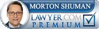 Morton Shuman  Lawyer Badge