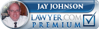 Jay Patrick Johnson  Lawyer Badge
