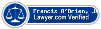 Francis T. O'Brien, Jr.  Lawyer Badge